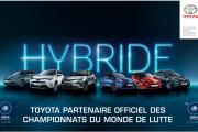 Toyota, partenaire officiel des championnats du Monde de lutte